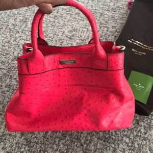 Kate Spade pink handbag with dustbag